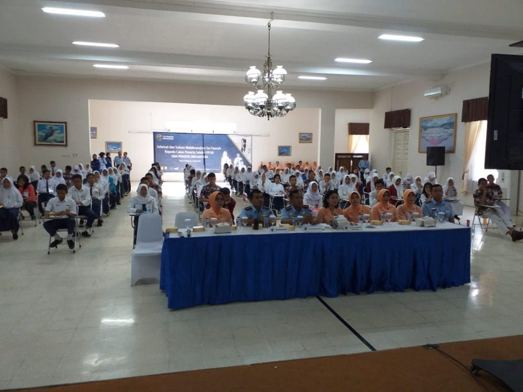 91 Calon Siswa SMA Pradita Dirgantara Laksanakan Seleksi Daerah di Lanud Adisutjipto