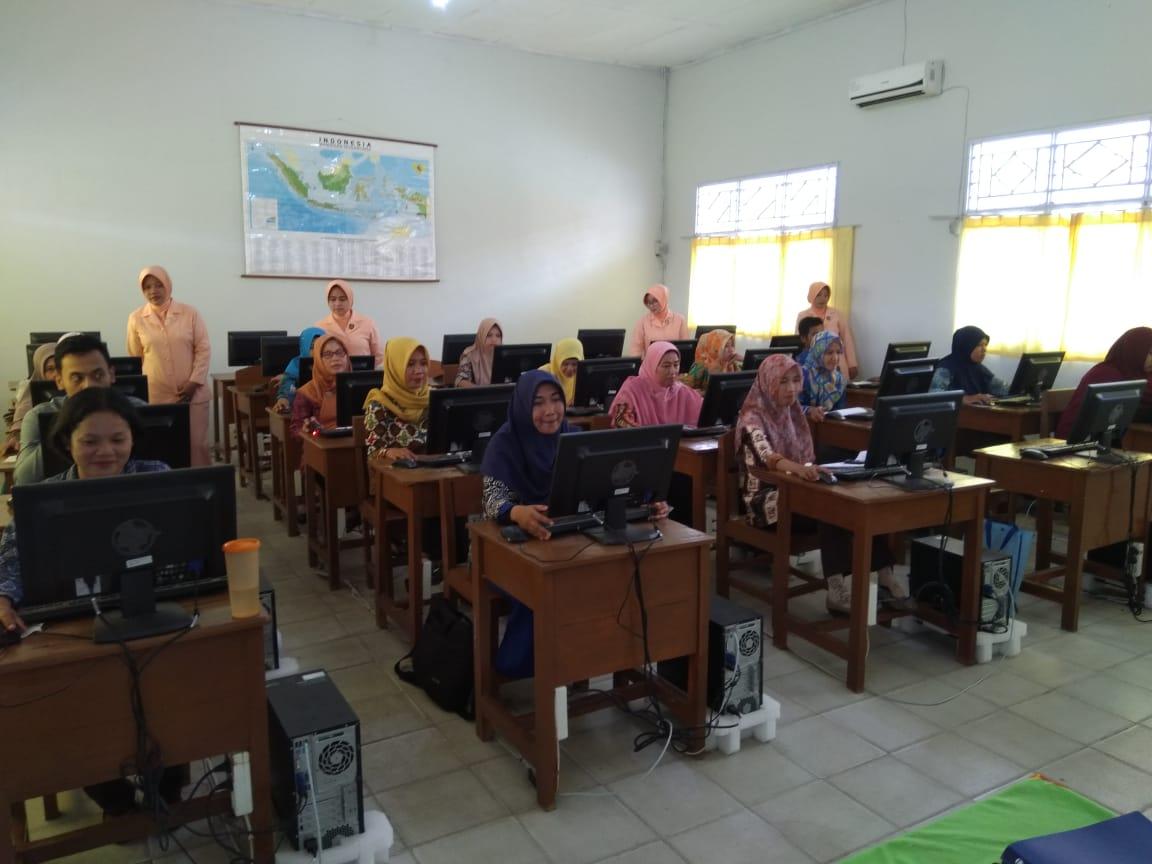Yasarini Lanud Pangeran M. Bun Yamin Melaksanakan Uji Kompetensi Guru Sekolah Angkasa