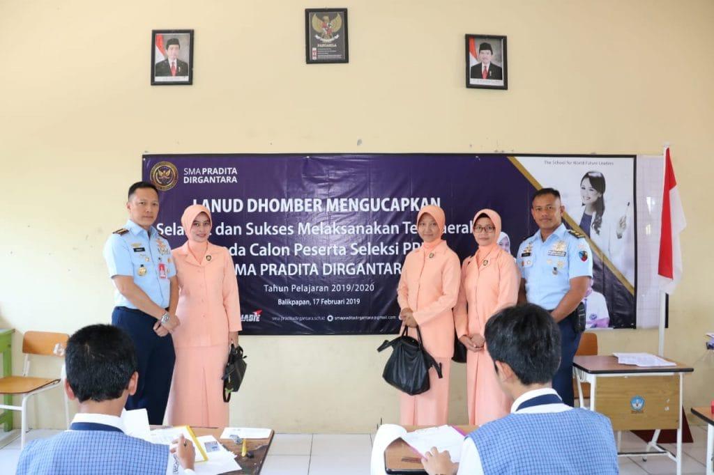 26 Peserta Seleksi PPDB SMA Pradita Dirgantara Wilayah Kaltim Ikuti Tes Daerah