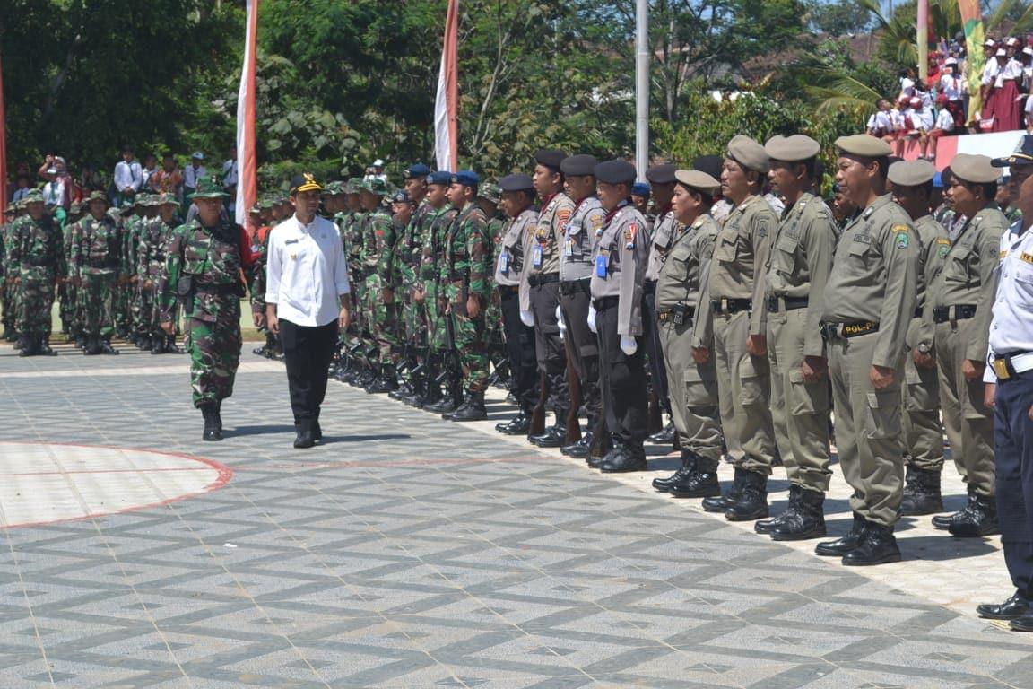 Lanud Iswahjudi Terjunkan Prajurit di TMMD ke -104 di Poncol Kab Magetan