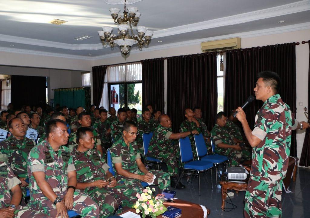 Danlanud Sim : Prajurit TNI Tidak Berpolitik Praktis
