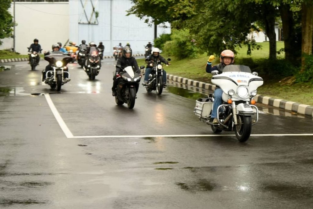 Farewell Riding Danlanud Adisutjipto