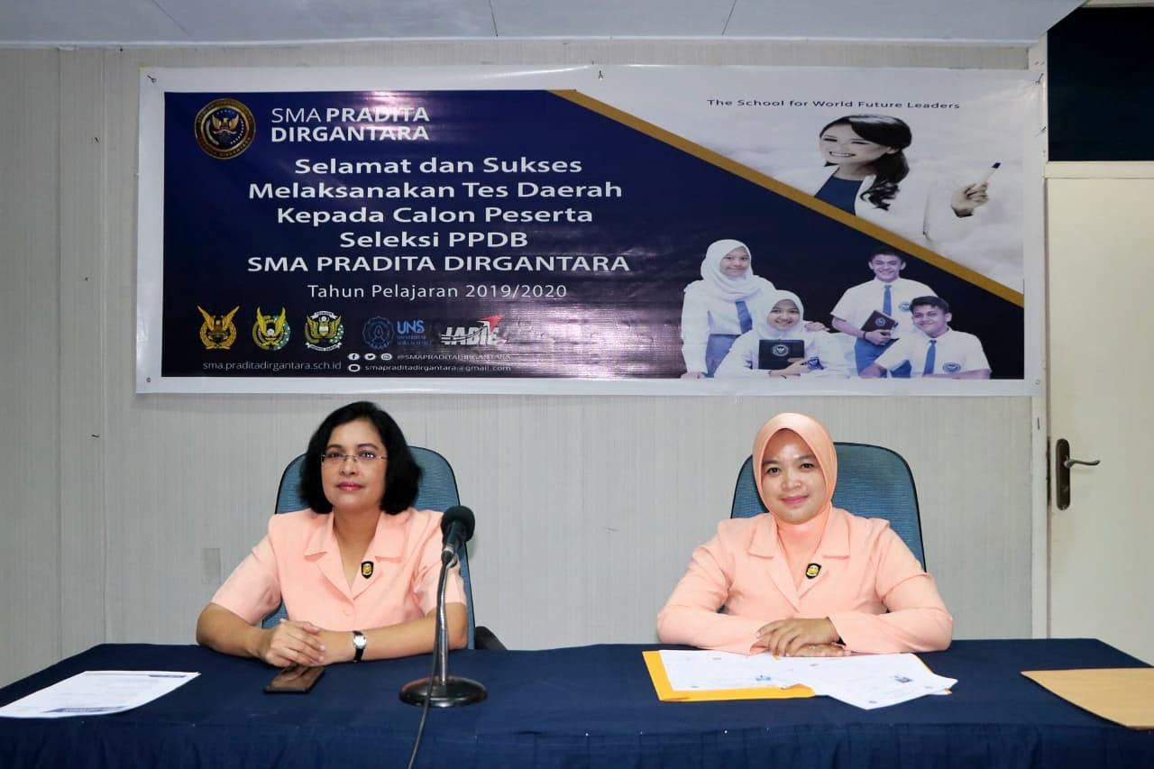 Lanud Manuhua Laksanakan Tes PPDB Pradita