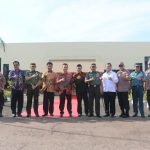 Danlanud Rhf Sambut Kunjungan Kerja Wakil Presiden RI di Batam