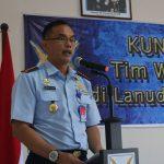 Exit Briefing, Tim Wasrik Itjenau Apresiasi dan Beri Masukan Positif demi Kemajuan Lanud RHF