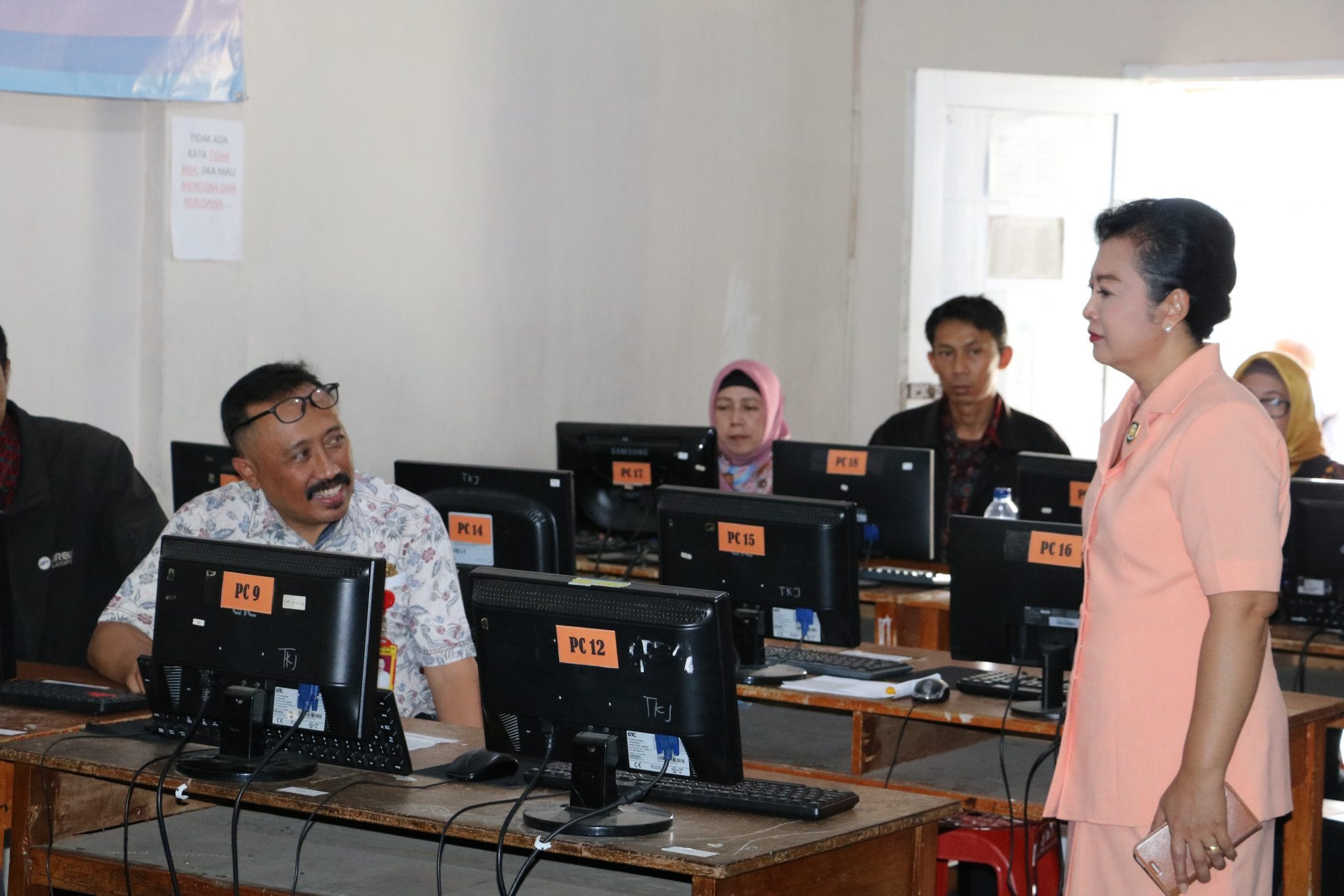 Uji Kompetensi Guru Sekolah Angkasa Lanud Sulaiman