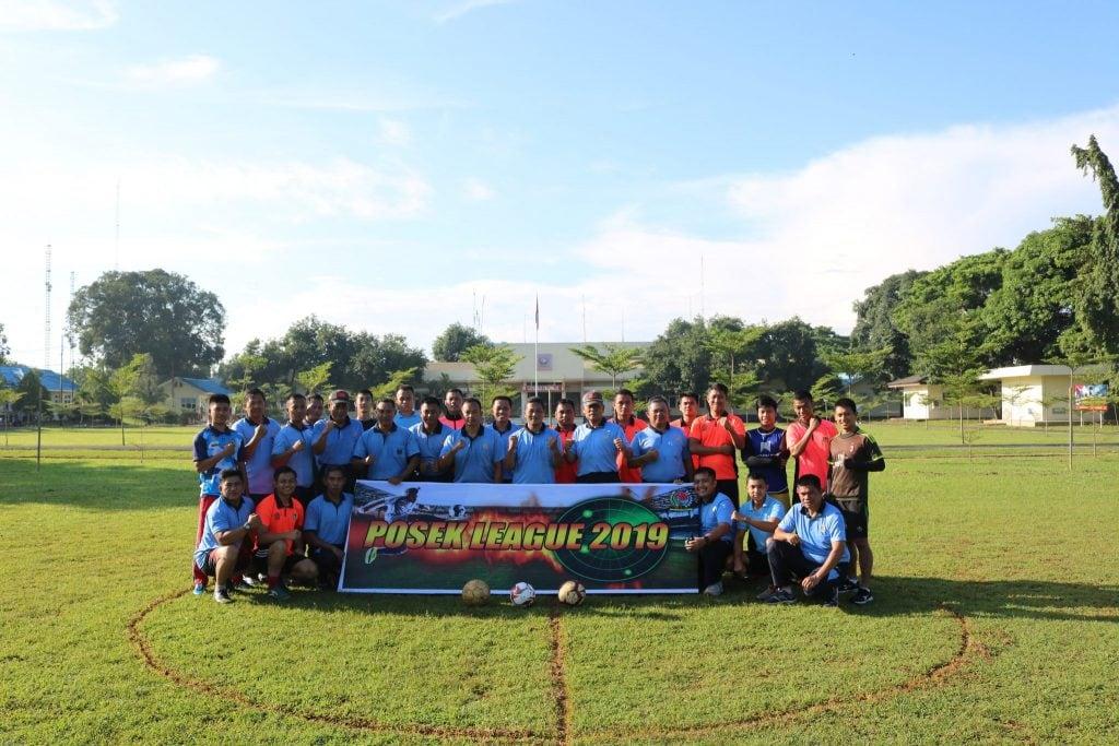 Posek Kosekhanudnas II Mengadakan Kegiatan Tournamen Bola Futsal