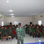 Lanud Dhomber Gelar Latihan Pengamanan Jelang Pemilu 2019