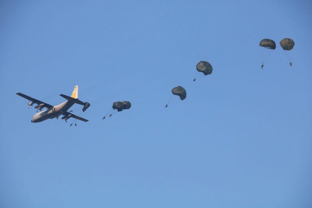 152 Personel Wing III dan Yonko 469 Paskhas Laksanakan Latihan Jungar