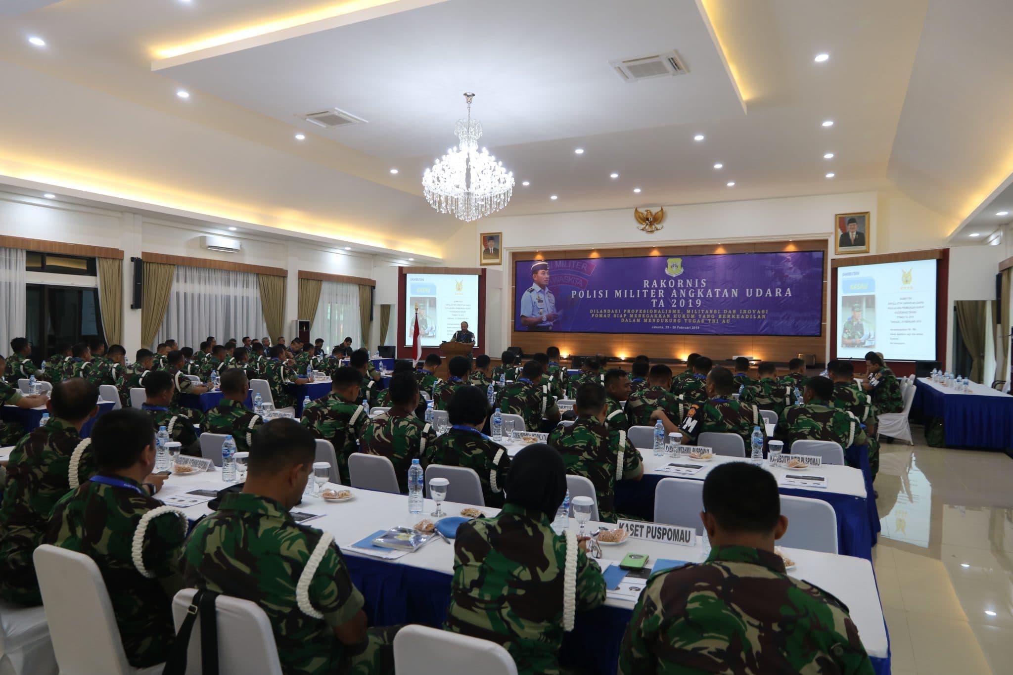 Tingkatkan Kebersamaan dan Juga Kepedulian Melalui Rakornis Pomau T.A 2019