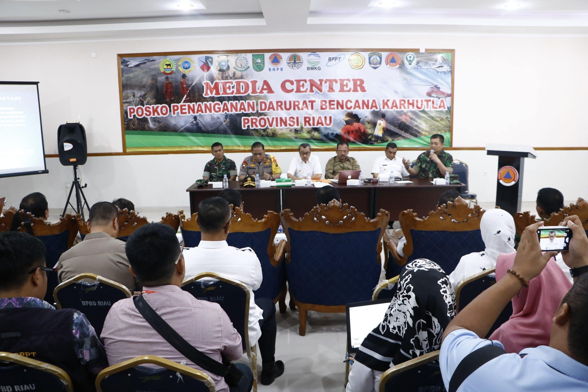 Rapat Koordinasi Satgas Karhutla di Prov. Riau Tahun 2019