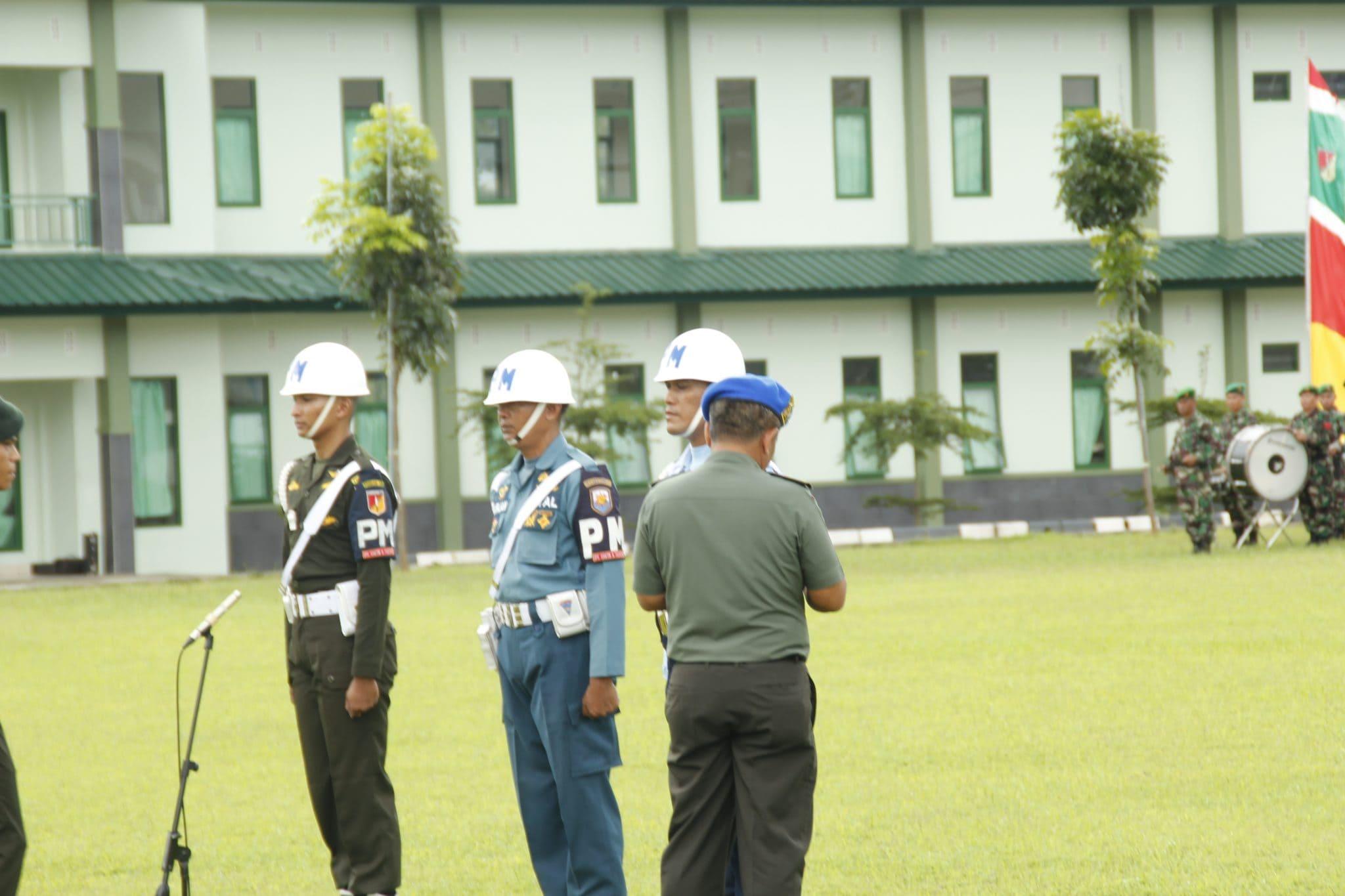 Upacara Gelar Operasi Gaktib dan Yustisi Polisi Militer TA. 2019