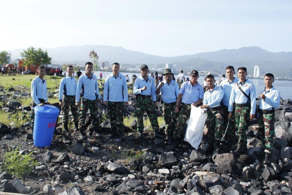 Lanud Sam Ratulangi Ikut Hari Peduli Sampah Nasional
