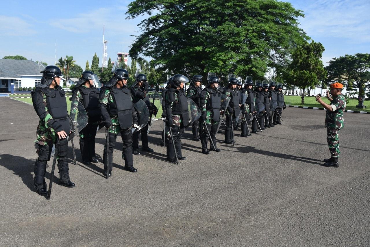 Lanud Husein Sastranegara Siap Dukung Pengamanan Pemilu