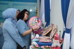 Kunjungan Kerja Ketua PIA AG Cabang 7/D II Lanud Hnd