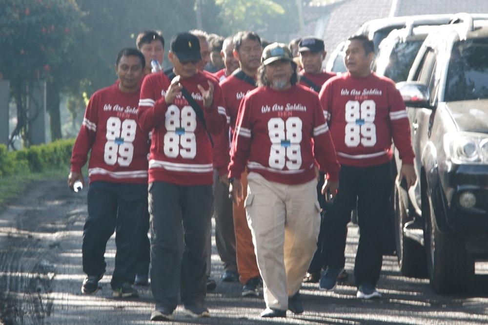 Reuni Akbar Sepamilwa ABRI I Tahun 1988/1989 30 Tahun Mengabdi Disambut Hangat di Lembang
