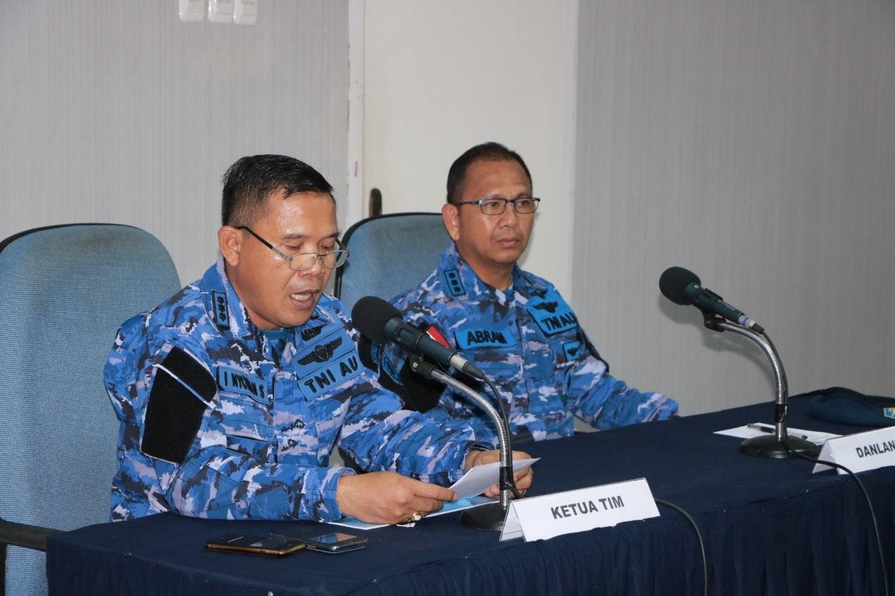 Inspektorat Koopsau III Laksanakan Wasrik di Lanud Manuhua