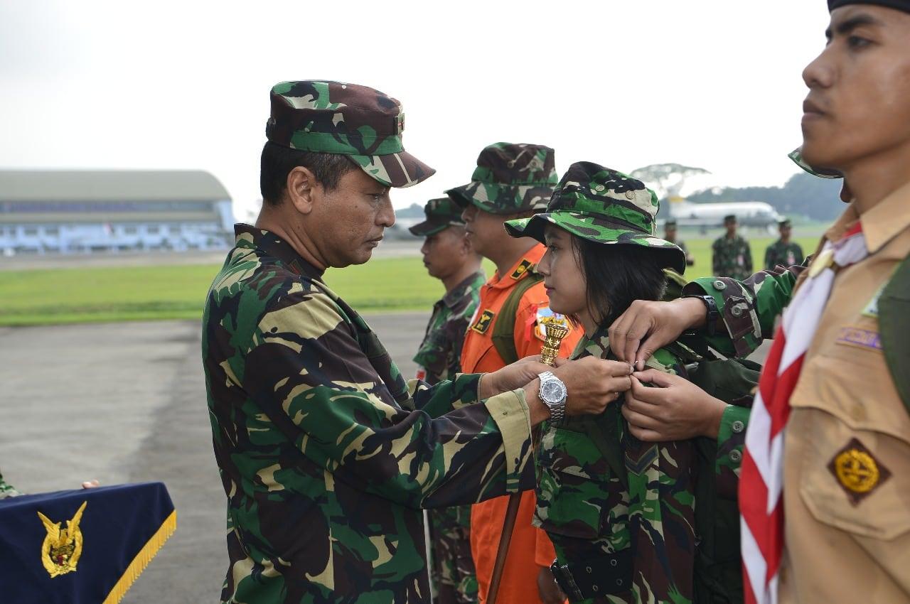Komandan Lanud Halim Perdanakusuma Buka Latihan Survival Dasar 2019