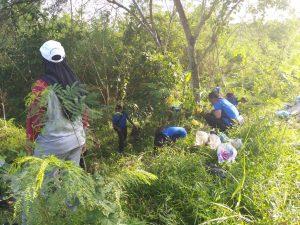 Dukung HPSN 2019, Lanud RHF Ikut Bersihkan Sampah