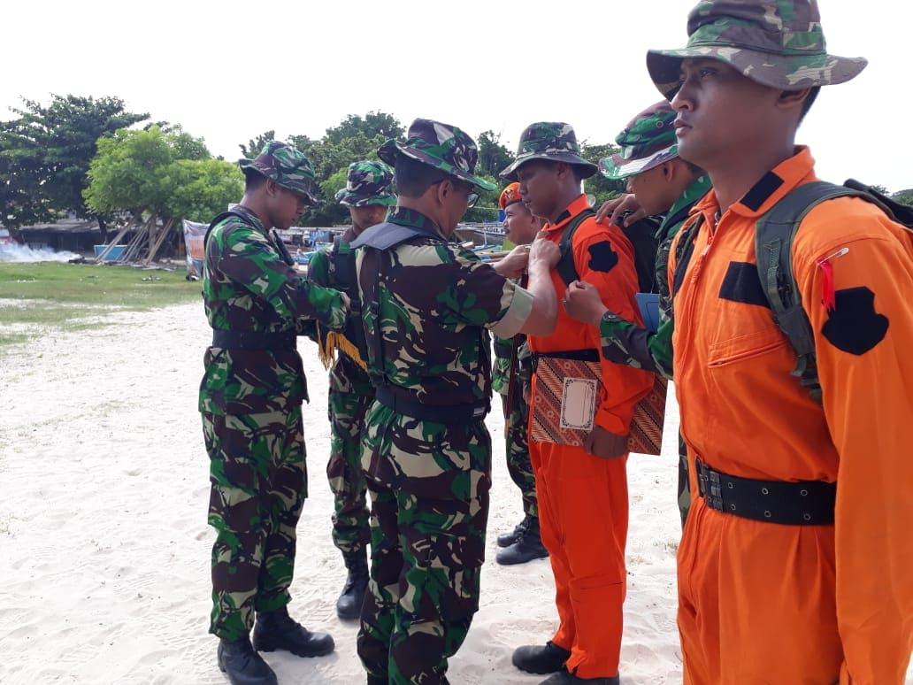 """Komandan Lanud ATS Tutup"""" Latihan Survival Dasar Sangga Langit T.A 2019"""