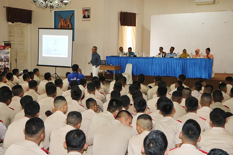 Siswa SMK Penerbangan AAG Adisutjipto Terima Paparan dari PT Fukusuke Kogyo Indonesia