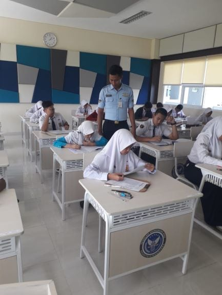 Lanud Adi Soemarmo Ikutkan 466 Peserta Seleksi PPDB SMA Pradita Dirgantara