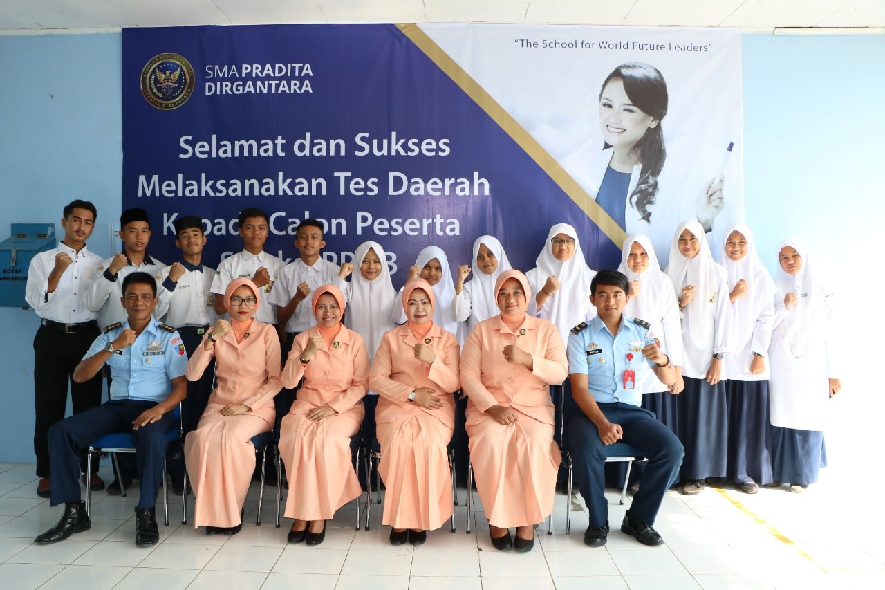Lanud Sim Adakan Seleksi Daerah PPDB SMA Pradita Dirgantara