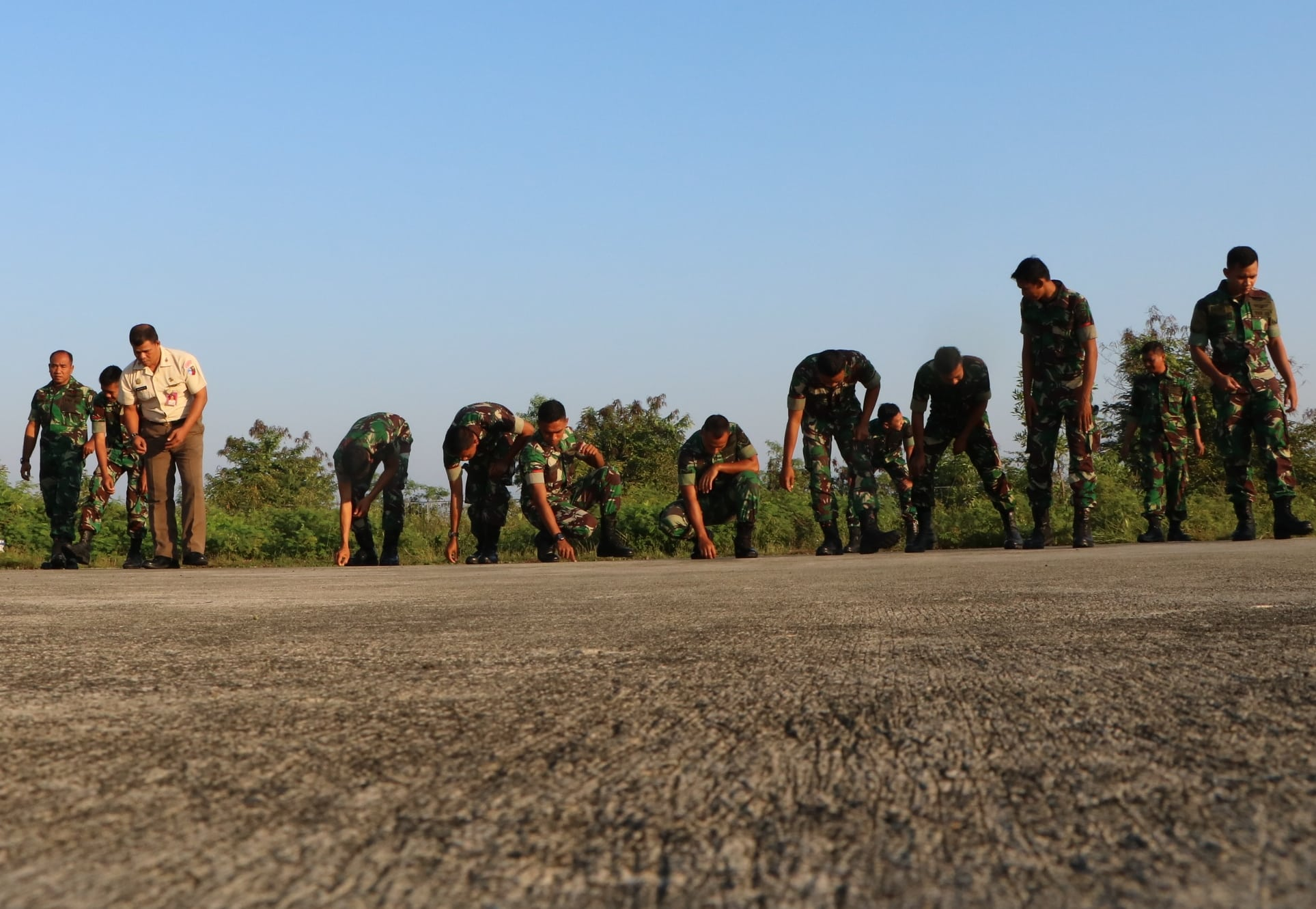 Korve Koba di Lanud Sultan Iskandar Muda