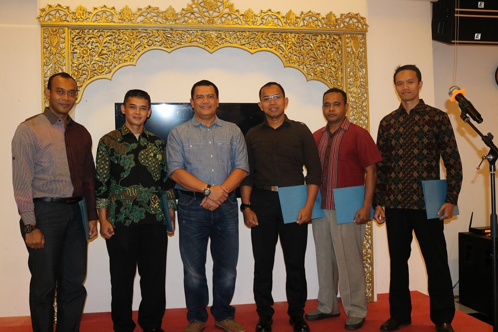 Pangkosekhanudnas I Beri Penghargaan kepada Anggota Kosekhanudnas I
