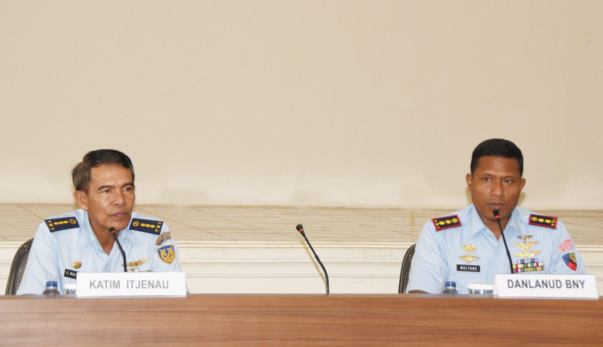 Exit Briefing Wasrikkap Itjenau di Lanud Pangeran M. Bun Yamin