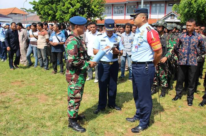Kunjungan Kerja Presiden RI ke Wilayah Cilacap, Komandan Lanud J.B. Soedirman sebagai Dansubsatgas