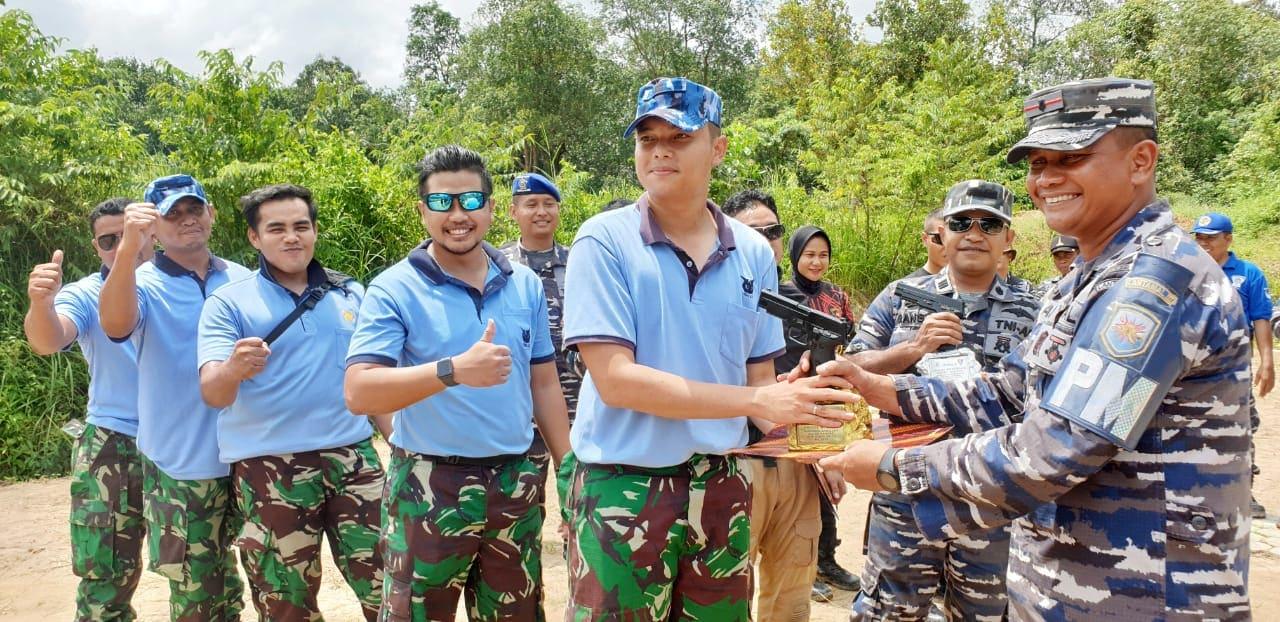 Lanud H. AS Hanandjoeddin Juara Lomba Tembak se-Bangka Belitung