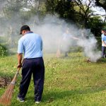 Sukseskan Gerakan Indonesia Bersih 2019 di Lanud Wiriadinata