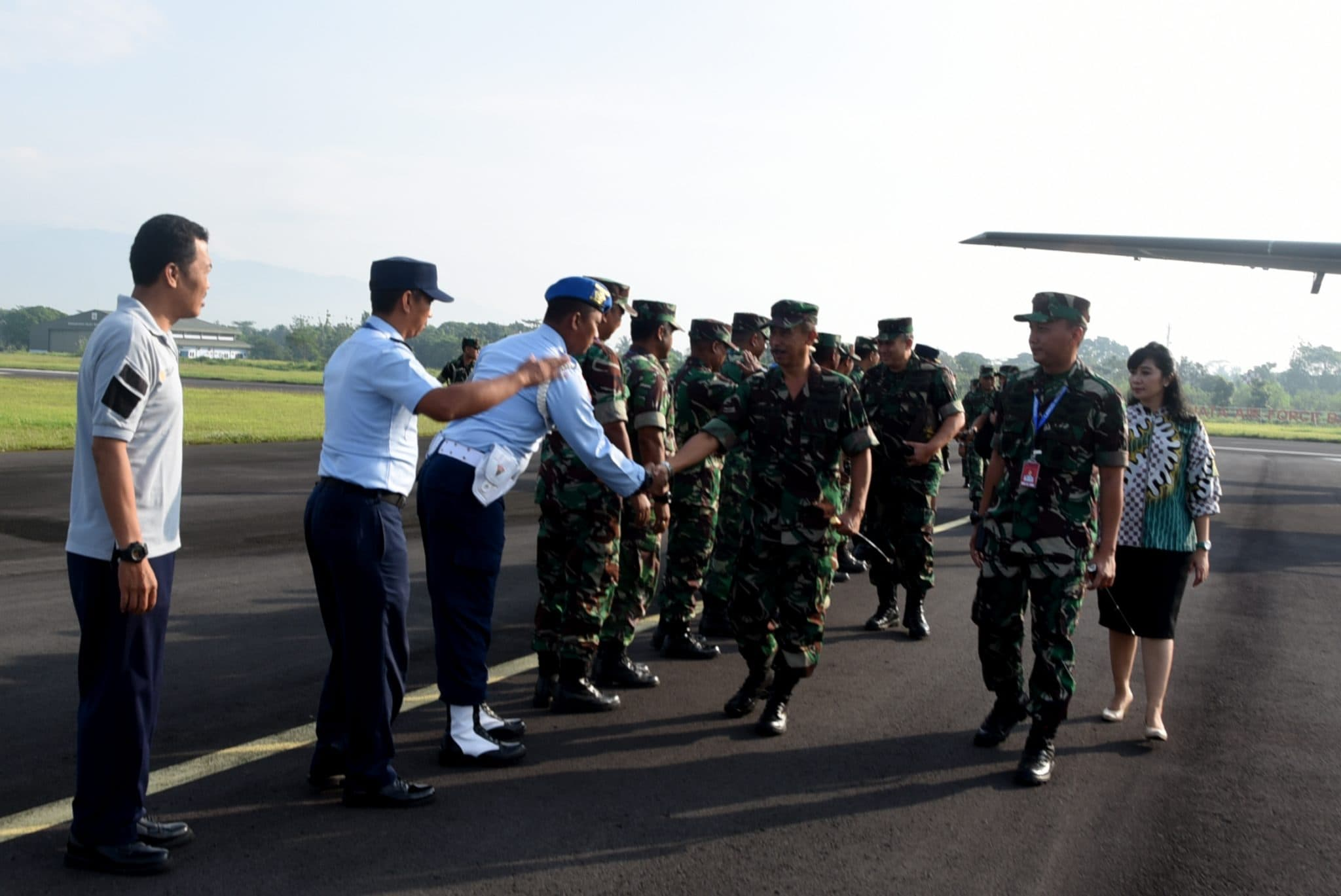 Kunjungan Kerja Dankodiklatau di Lanud Wiriadinata
