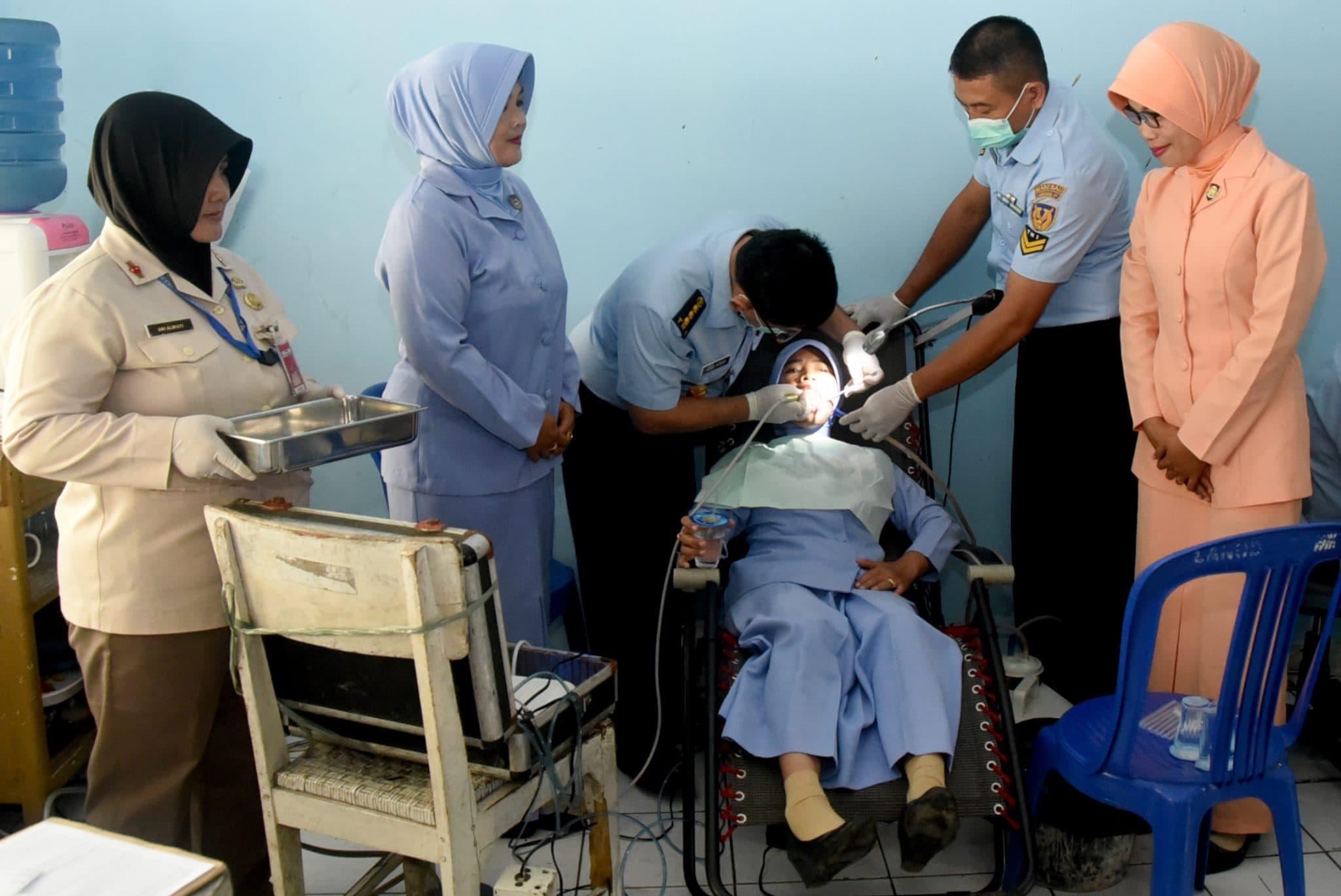 Kunjungan Kerja Tim Flying Dentist di Lanud Wiriadinata