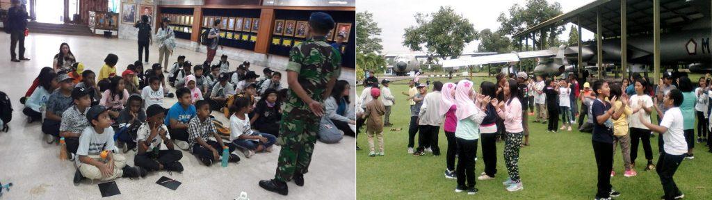 SD YPJ Tembagapura dan Kuala Kencana Kunjungi Muspusdirla