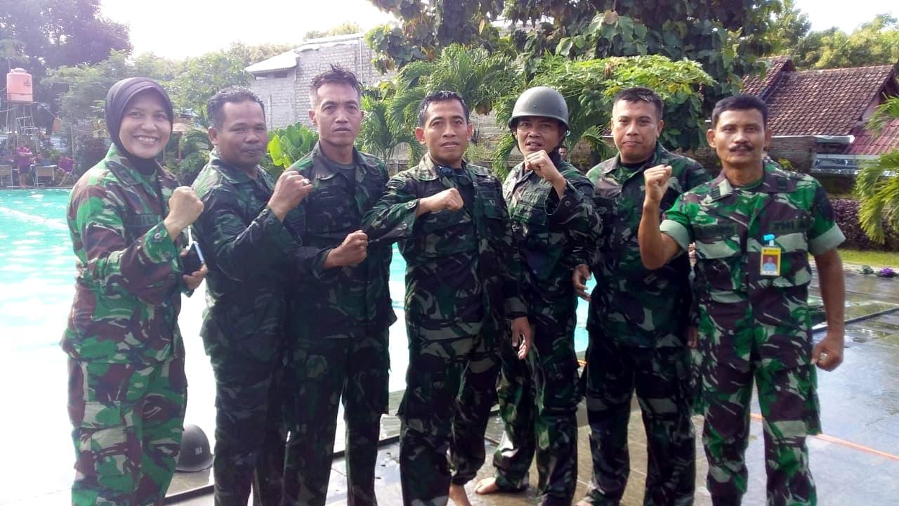 Anggota Muspusdirla Ramaikan POR HUT ke-73 TNI AU di Adisutjipto