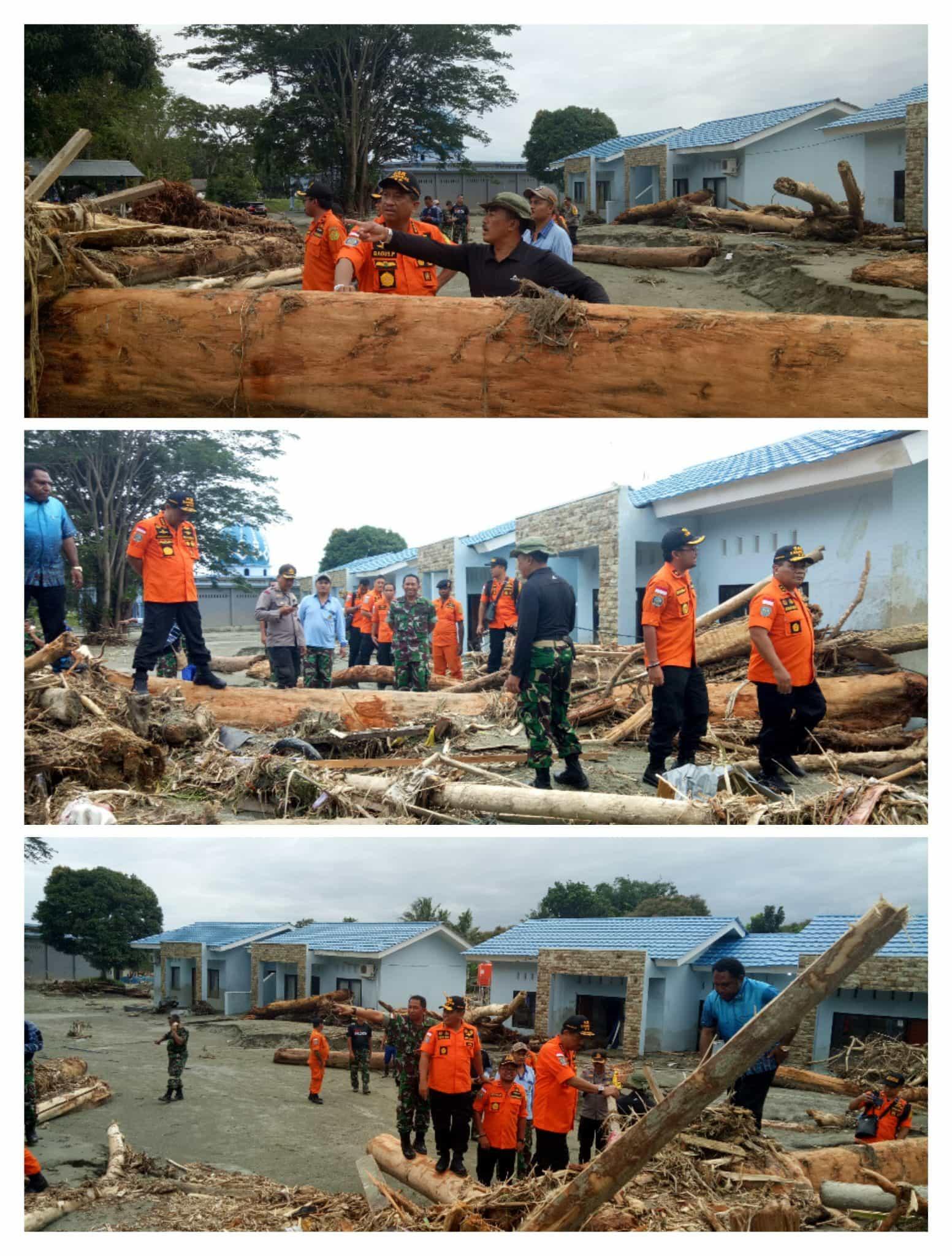 Proses Evakuasi Korban Banjir BandangSentani Masih Berlangsung