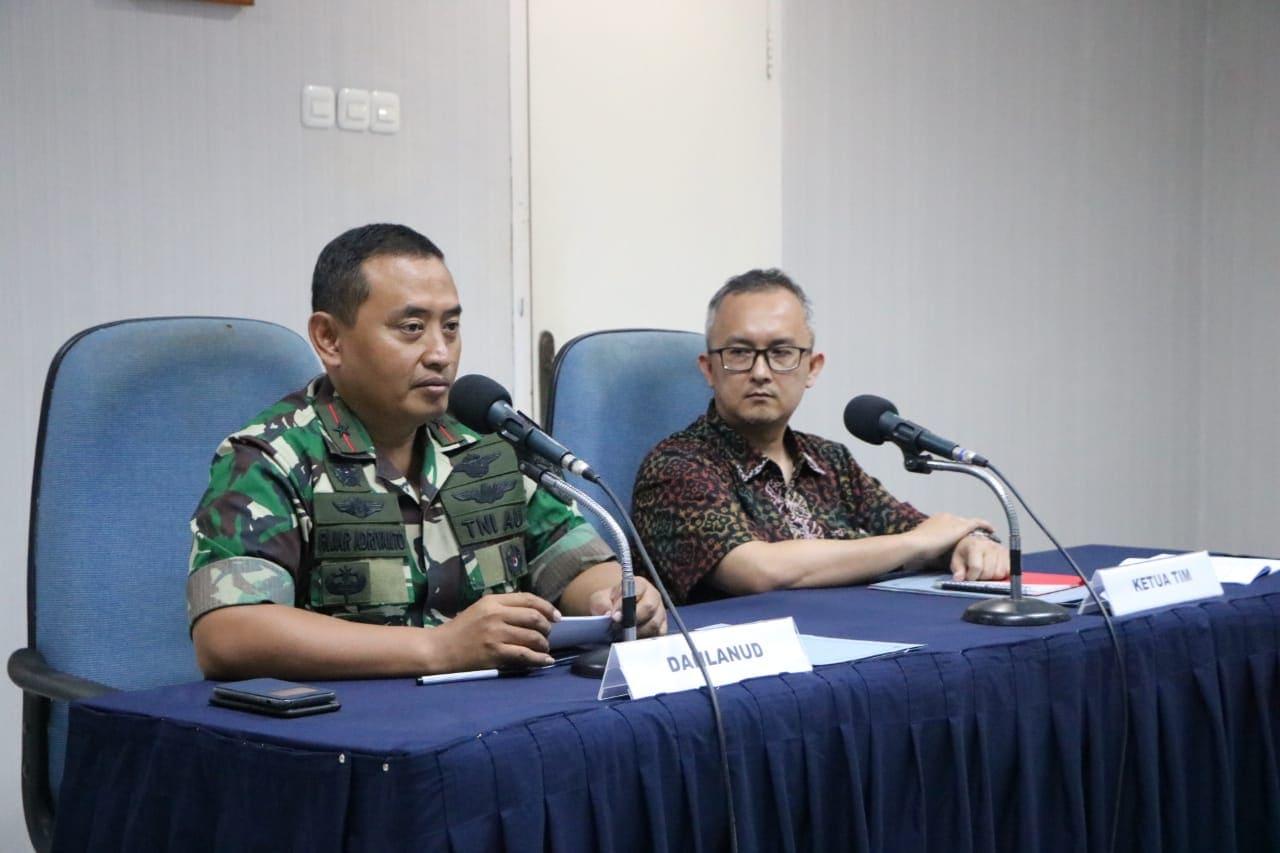 Pelaksanaan Exit Briefing Tim BPK RI di Lanud Manuhua