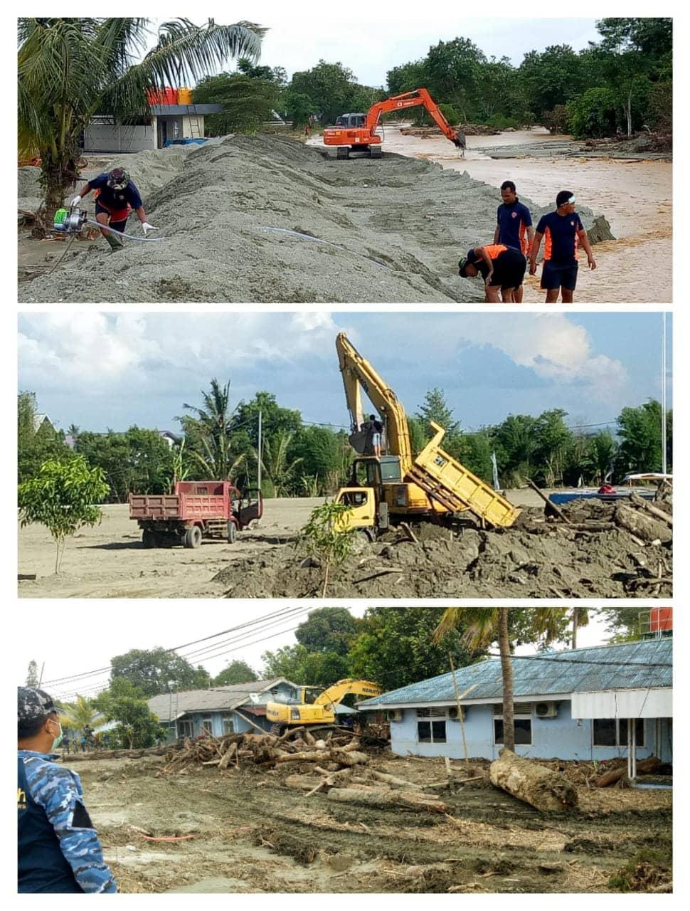Kondisi Terakhir Lanud Silas Papare Pascabanjir Bandang Sentani Jayapura