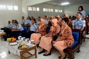 Kunjungan Kerja Kasau ke SMK Angkasa Tasikmalaya