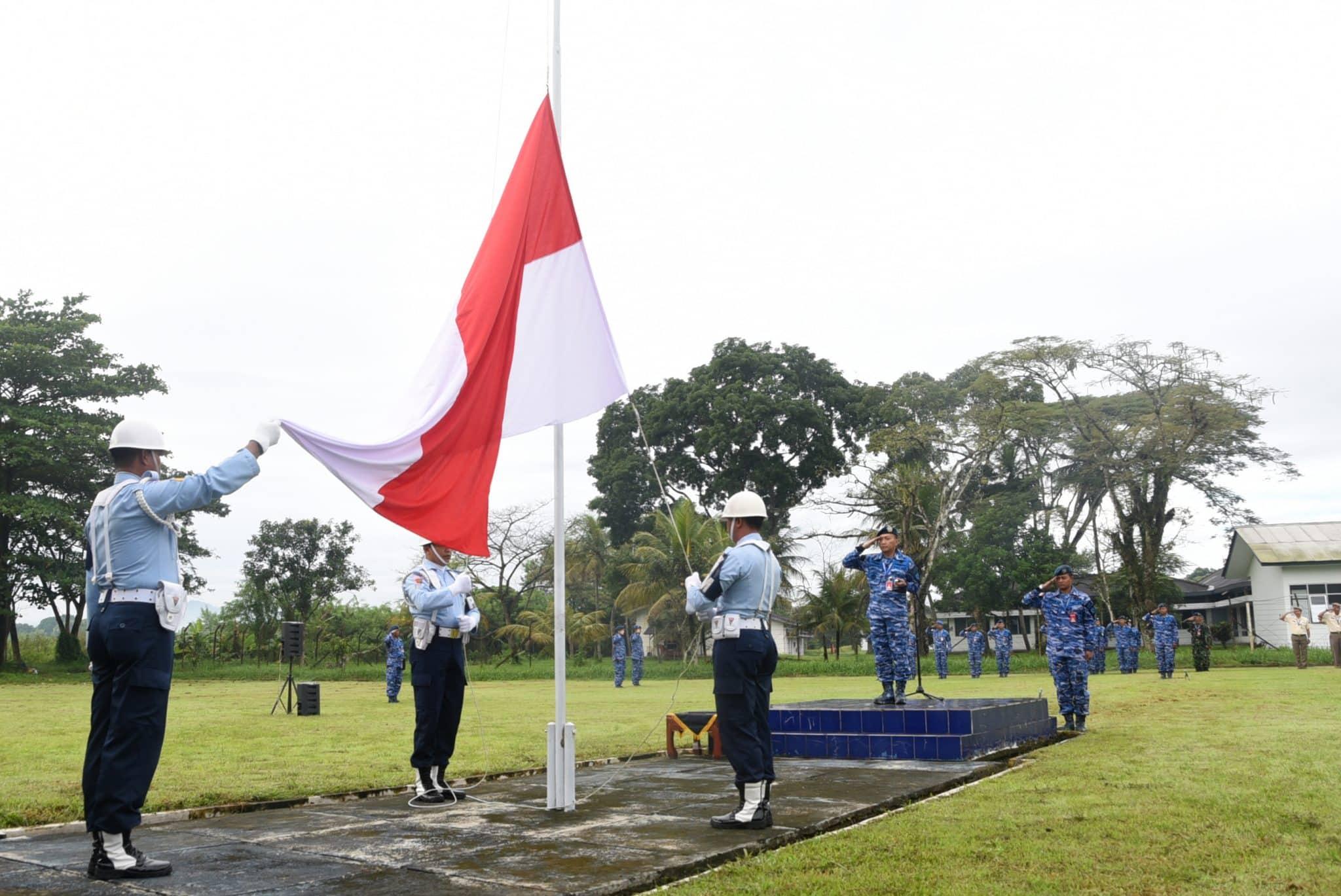 Upacara Bendera 17- An Di Lanud Wiriadinata