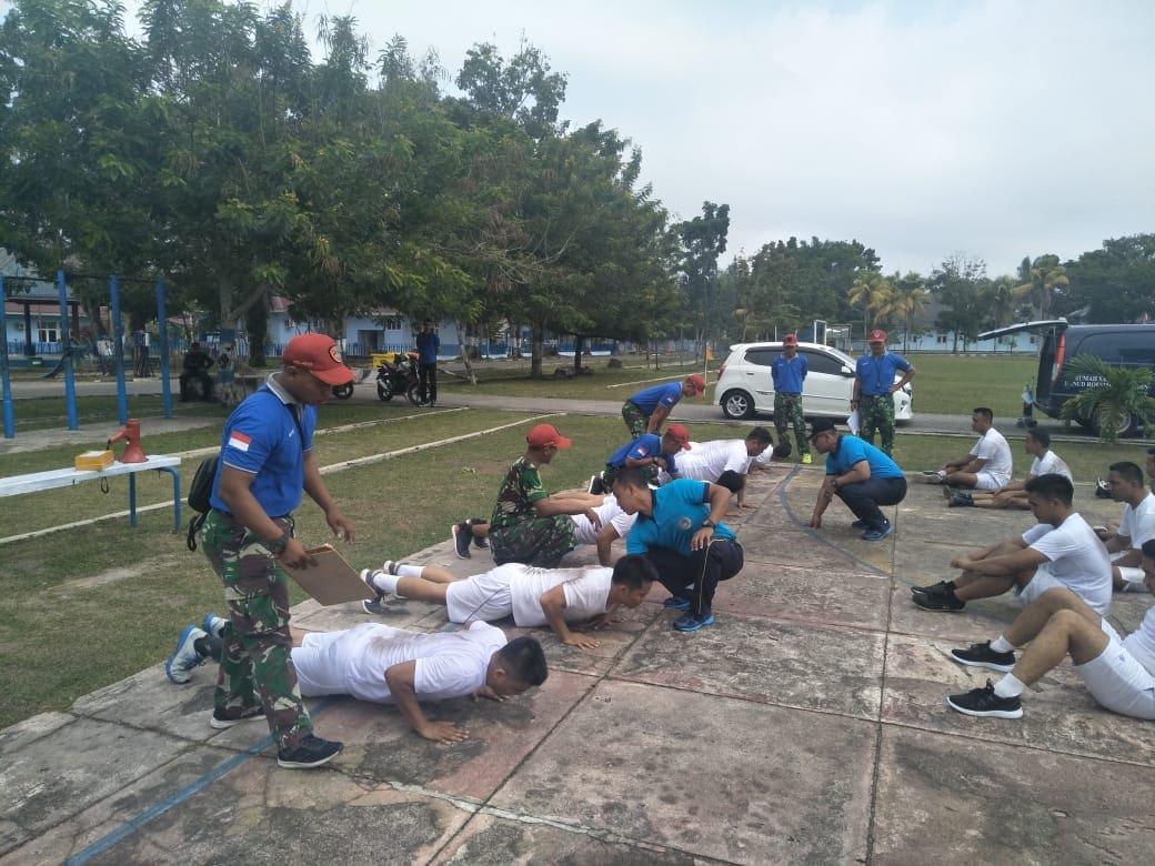 Casis PA PK TNI Khusus Tenaga Kesehatan Tes Samapta di Lanud Rsn