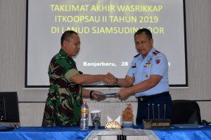 Taklimat Akhir Wasrikkap Itkoopsau II di Lanud Sjamsudin Noor