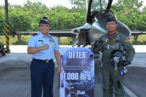 """Si """"Otter"""" Capai 1000 Jam Terbang dengan T50i Golden Eagle"""