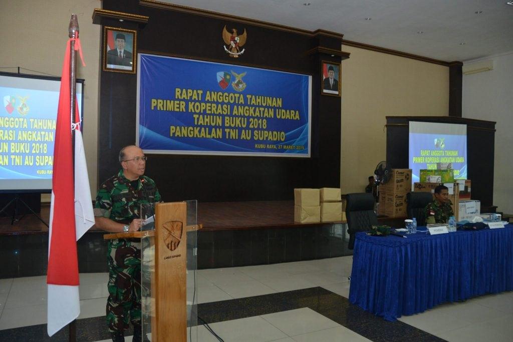 RAT Primkopau Lanud Supadio Tahun Buku 2018