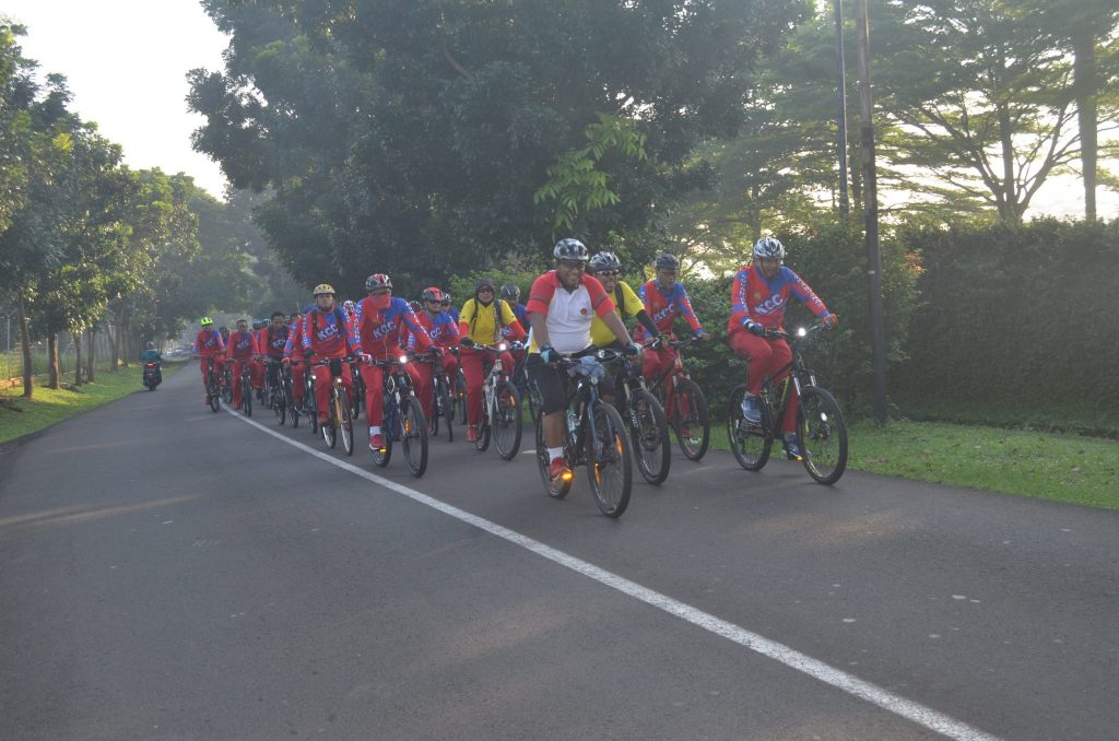 Kohanudnas Cycling Community Kitari Lanud Halim Perdanakusuma