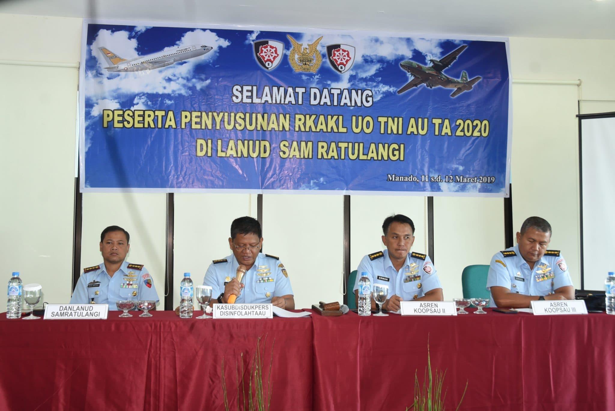 Rapat RKA-KL TA.2020 Di Manado