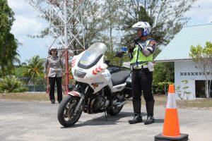 Tumbuhkan Rasa Aman Berkendara, Lanud Rhf Gelar Sosialisasi Safety Riding