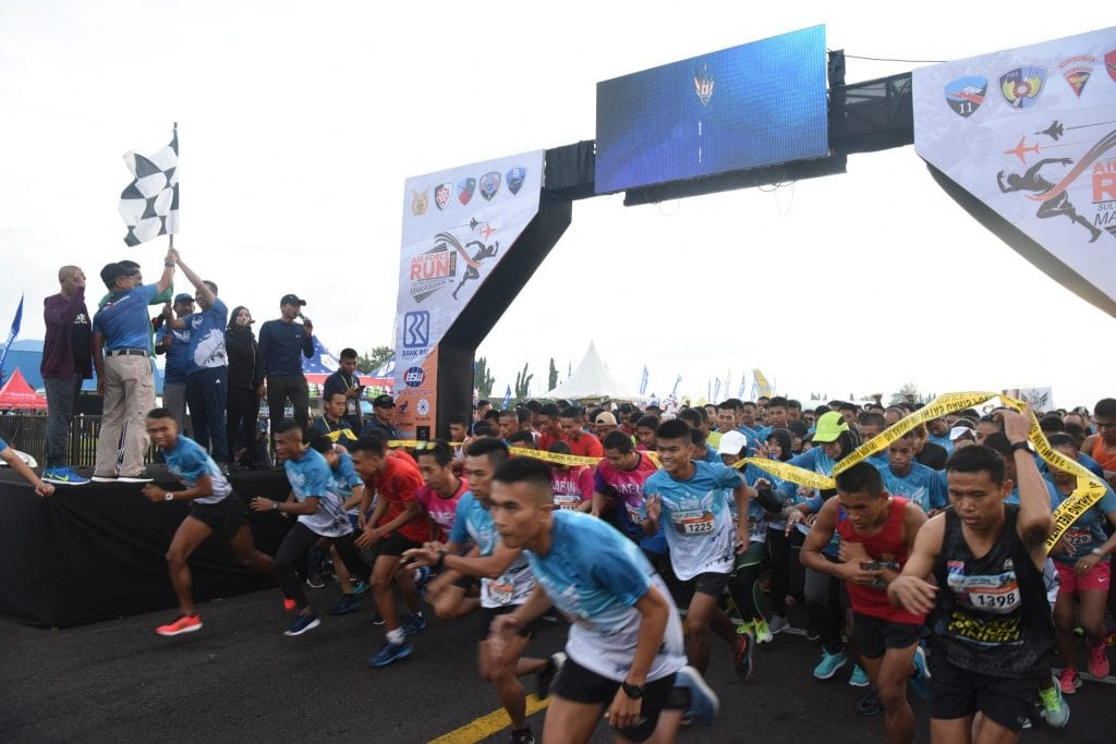 Air Force Run 2019 di Lanud Sultan Hasanuddin
